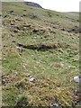 NO0468 : Ruin, Gleann Fearnach by Richard Webb