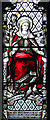 TF6918 : The church of All Saints in Ashwicken - stained glass by Evelyn Simak