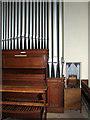 TF6918 : The church of All Saints in Ashwicken - the organ by Evelyn Simak