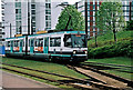 SJ8097 : Manchester Metrolink tram no. 2003 near the Broadway tram stop, Salford Quays by P L Chadwick