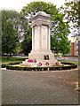 SJ8597 : Ardwick Green War Memorial by David Dixon
