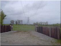 N9647 : Pylon, Co Meath by C O'Flanagan