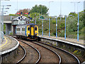 TG5108 : A train from Norwich entering Great Yarmouth Station by John Lucas