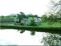 SJ8964 : Crossley Hall farm from the Macclesfield Canal by Raymond Knapman