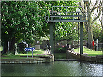 TL0549 : Lock on the Great Ouse by Thomas Nugent