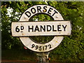 ST9917 : Sixpenny Handley: finger-post finial detail by Chris Downer