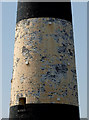 TA4011 : Flakey Pink Paint on Spurn Lighthouse by Andy Beecroft