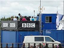 SX9891 : Westpoint : Devon County Show 2010 - BBC Stand by Lewis Clarke