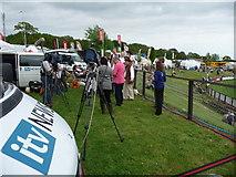SX9891 : Westpoint : Devon County Show 2010 - ITV News by Lewis Clarke