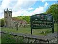 SE9430 : All Saints Church, Brantingham by JThomas