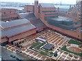 TQ2982 : British Library courtyard by David Gearing