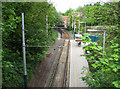 SK5343 : Cinderhill Tram Stop - 1 by John Sutton