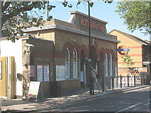 TQ3579 : Rotherhithe, now Overground by Stephen Craven