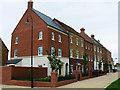 SU1482 : New terraced housing, East Wichel, Wichelstowe, Swindon by Brian Robert Marshall