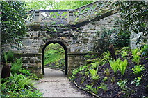 TQ4745 : Garden at Hever Castle, Kent by Peter Trimming