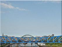 NZ2463 : Tyne Bridges by John Allan