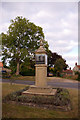 TG0934 : War Memorial, Edgefield, Norfolk by Christine Matthews