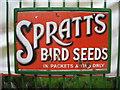 SU5832 : Spratt's Bird Seeds by Sandy B
