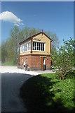 SK1461 : Tissington Trail - Hartington Signal Box by Anthony Parkes