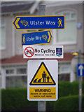 J5182 : Signs, Bangor by Rossographer
