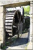 SK3281 : Abbeydale Industrial Hamlet - the big wheel. by Chris Allen