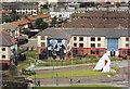 C4316 : Leckey Road, Bogside, Derry by nick macneill