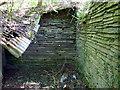 SN1641 : Stonework, Cwm by ceridwen