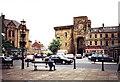 NY9364 : Hexham Marketplace by nick macneill