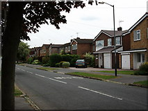 SP2871 : Houses in John O'Gaunt Road by John Brightley
