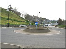 NX3343 : The roundabout, Port William by Ann Cook