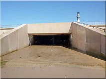SD3035 : Surface water outfall, Blackpool Promenade by Alexander P Kapp