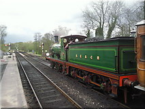 TQ4023 : Ready for the off at Sheffield Park station by Marathon