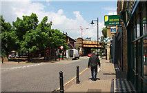 TQ2575 : Wandsworth Town Station by John Salmon