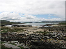 C1544 : Bay at Ballyhoorisky Island by Willie Duffin
