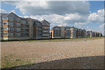 TQ6402 : Seaside Apartments & Beach by Oast House Archive