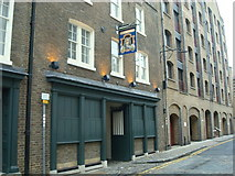 TQ3480 : Captain Kidd public house, Wapping High Street by Stacey Harris