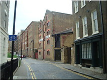 TQ3480 : Wapping High Street, London E1 by Stacey Harris