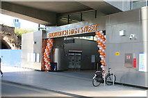 TQ3382 : Shoreditch High Street station by Dr Neil Clifton