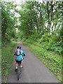 SJ4288 : Trans Pennine Trail - Gateacre by Anthony Parkes