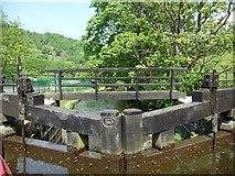 SD9726 : Footbridge at Callis Lock by Christine Johnstone