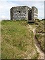 SW5437 : Pillbox near Lelant by Philip Halling