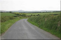 SX2287 : Bodmin Moor in the distance by roger geach