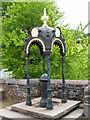 NY7843 : Bainbridge's Cast Iron Drinking Fountain by mauldy