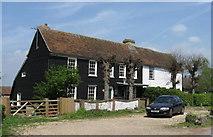 TQ5193 : Essex weatherboard cottages at Havering-atte-Bower by Derek Voller