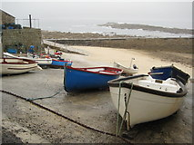 SW3526 : Boats at Sennen Cove by Philip Halling
