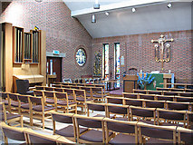 TQ3377 : Interior of St George's church, Camberwell by Stephen Craven