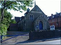 SO7845 : Barnards Green Memorial Hall by James Pratt
