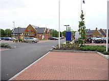 SP4641 : Restaurant car park, Grimsbury by Chris Gunns