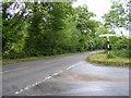 TG1407 : B1108 Watton Road by Geographer