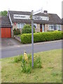 TG1508 : Roadsign in Bawburgh by Adrian Cable